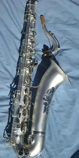10M Artist replated tenor.  Thanks to www.vintagesax.com