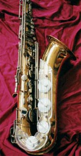 New King (III) lacquer tenor.  Thanks to www.worldwidesax.com